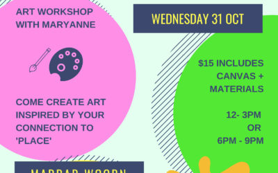 Place – Mini Canvas Workshops