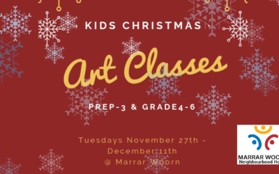 After-School Christmas Art Classes